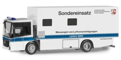 Mercedes Benz Econic Koffer-LKW Sondereinsatz Messungen von Luftvereunreinigungen LANUV NRW