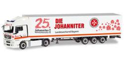 MAN TGX XLX Koffer-Sattelzug Johanniter LV Bayern / Weihnachtstrucker