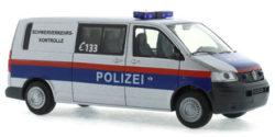 VW T5 Schwerverkehrskontrolle Polizei Österreich