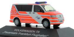 VW T5 Feuerwehr Flughafen Frankfurt