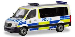 Mercedes Benz Sprinter Polis Schweden