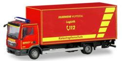 MAN TGL Koffer-LKW mit Ladebordwand Feuerwehr Wuppertal