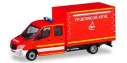Mercedes Benz Sprinter Doppelkabine mit Plane Feuerwehr Kehl