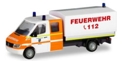 Mercedes Benz Sprinter Doppelkabine mit Plane Feuerwehr Rhede