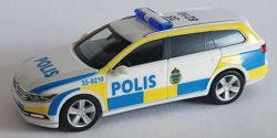 VW Passat Variant B8 Polis Polizei Schweden