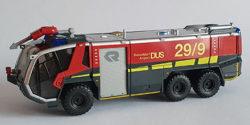 Rosenbauer Panther FLF Feuerwehr Flughafen Düsseldorf