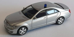 Mercedes Benz S-Klasse Polizei gepanzert Werttransportbegleitung oder SEK Personenschutz