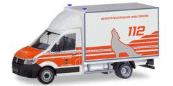 VW Crafter Koffer Feuerwehr Wolfsburg