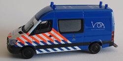 Mercedes Benz Sprinter Koninklijke Marechaussee Militärpolizei Niederlande