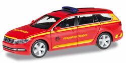 VW Passat Variant ELW Feuerwehr Dresden
