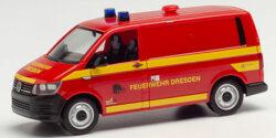 VW T6 Kasten Feuerwehr Dresden