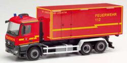 Mercedes Benz Arocs M WLF AB Logistik Feuerwehr Stadt Herzogenrath