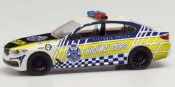 BMW 5er Limousine Victoria Police Highway Patrol