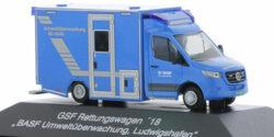 Mercedes Benz Sprinter GSF RTW BASF Umweltüberwachung Ludwigshafen
