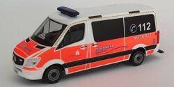 Mercedes Benz Sprinter NEF Feuerwehr Hamburg Rotherbaum