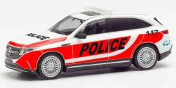 Mercedes Benz EQC Police Schweiz / Erprobungsfahrzeug