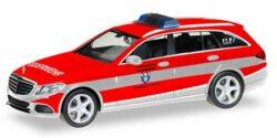 Mercedes Benz C-Klasse ELW Feuerwehr Saarbrücken