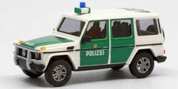 Mercedes Benz G-Klasse Bereitschaftspolizei Hamburg Zugführerfahrzeug